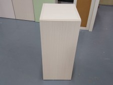 全新陳列品 重細心夾板 有門層櫃 (木紋款), 可用作層櫃或吊櫃 12*14*28
