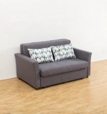 兩坐位布藝儲物梳化床  1530W×920D×820H#3028