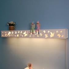 全新壁燈  (120*12*12CM)白色w1664