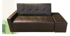 廠家直銷 全新 彷皮 / 真皮 梳化床 78*34*34 #KM137 (包送貨及安裝), 可報價改尺寸