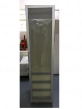玻璃衣櫃 19.5*24*79.5'' #2012036