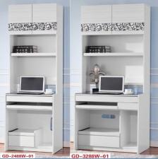 廠家直銷 全新 24吋/32吋 書櫃 #GD-2488W-01/GD-3288W-01 (包送貨及安裝)