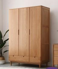 全新 橡木衣櫃 w5694