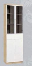 廠家直銷 全新 2尺 白橡木色書櫃 24*13*78