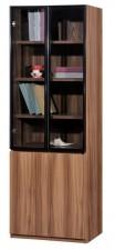 廠家直銷  HH 新款淺胡桃木色書柜系列 #HH-686-318 (包送貨及安裝)