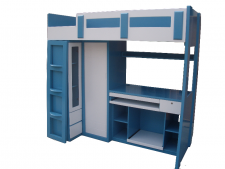 廠家直銷 全新 2尺半/3尺 組合床 #D-01 (包送貨及安裝)