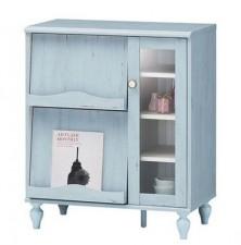 全新儲物櫃  (75.5*41*88.5CM)  藍色w4267