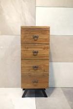 全新 印尼出產 再生木四桶櫃 (手工製造) NFR-11