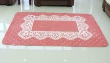 全新可愛卡通地毯(130*185*0.5CM)粉紅色w342