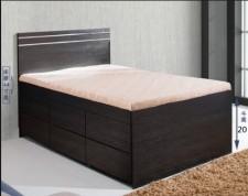 廠家直銷 全新 3尺/4尺/4尺半 雙人床 (六斗床) #B6-3672D(包送貨及安裝)