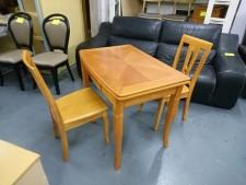 一枱兩椅  36*23.5*29.5''打開尺寸:47'' #2009091