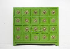 全新中式儲物櫃  (116*28*100CM) 綠色w2562