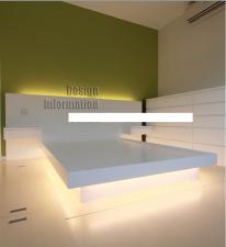 訂做傢俬,自訂尺寸 雙人床 H-597 (歡迎報價)