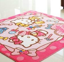 全新卡通地毯(130*185/185*185*1CM)粉紅色w344