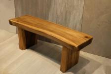 全新 印尼出產 雨木長凳 (手工製造) KCR-0045