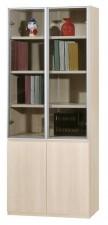 廠家直銷 全新  新款橡木色書柜系列  31.5*15*78'' #HH-383-318 (包送貨及安裝)