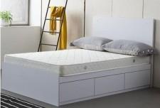 廠家直銷 全新 3尺至4尺半 (黑/白) 雙人床 #BA-3672D+C0 (包送貨及安裝)