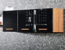 全新吊櫃  (120*30*40cm) 黑色w2696