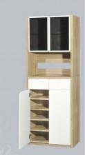 廠家直銷 全新 2尺半 白橡木色鞋櫃 30*14*78