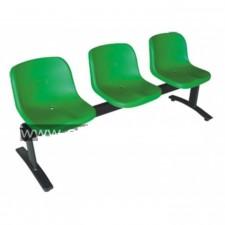 大堂膠排椅 #C-CI016