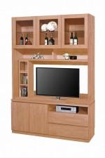 廠家直銷 1530x400x2030mm 櫸木色組合柜 #HH-826-205+210 (包送貨及安裝)