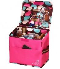 全新化妝袋(22*15*22CM)粉紅色w462