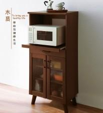 全新儲物櫃  (60*41*138CM) 白/咖啡色w1962