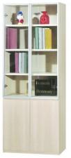 廠家直銷 全新  新款橡木色書柜系列  23.7*15*80'' #HH-383-317 (包送貨及安裝)