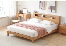 全新 橡木單人床/雙人床 w5684