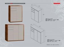 廠家直銷 全新 2尺半/3尺半鞋櫃 #WP-05-KW30/WP-05-KW42 (包送貨及安裝)