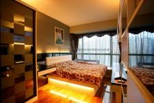 訂做傢俬,自訂尺寸 雙人床 H-600 (歡迎報價)