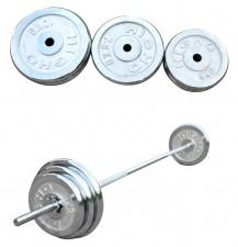 全新健身器材(50-100KG)  銀色w1871