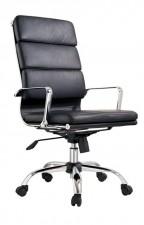 全新大班椅  (58*48*104cm) 黑/白色w2593