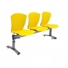 大堂膠排椅 #C-CI010