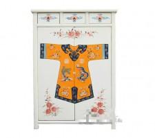 全新中式儲物櫃  (100*40*140CM) 白色w2580