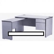 全新 高級寫字檯+獨立吊側檯+吊二斗櫃桶 ##C-AC019