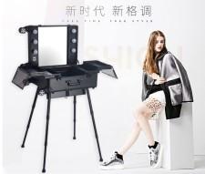 全新化妝箱  (78*50*142cm) 黑色w2816