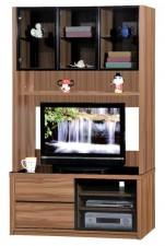 廠家直銷  新款淺胡桃木色組合柜系列 #HH-686-201+202 (包送貨及安裝)