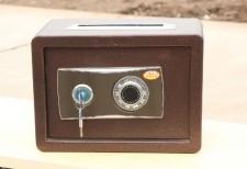 全新保險箱 (35*20*25CM) 灰色w1910