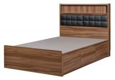 廠家直銷 全新 3尺至5尺 HH新款頭箱三柜桶床 #HH-686-271+3672/75 (包送貨及安裝)