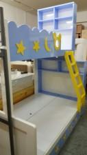 廠家直銷 訂做全新 米奇 上3尺下4尺 雙層床 #A-02(1) (包送貨及安裝)