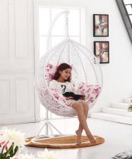 全新搖椅吊椅(95*95*195CM)白色w620