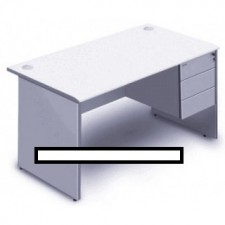 全新 高級寫字檯+吊三斗櫃桶(402Wx500Dx400Hmm) ##C-AC014