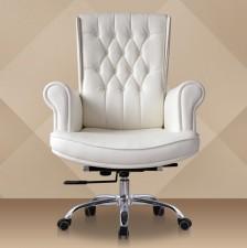 全新大班椅  (75*48*110cm) 白色w2601