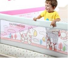 全新嬰兒護攔 (120/150/180*3*68cm)藍/粉紅色w1006