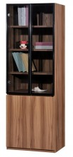 廠家直銷  HH 新款淺胡桃木色書柜系列 #HH-686-323 (包送貨及安裝)