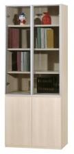 廠家直銷 全新  新款橡木色書柜系列  23.7*15*78'' #HH-383-23 (包送貨及安裝)