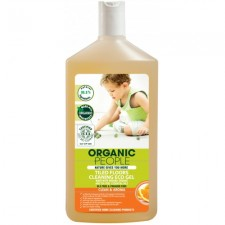 Organic People 有機甜橙茶樹清香地磚清潔啫喱 500ml (#E99)