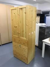 松木衣櫃 30.5*21.5*78.5