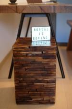 全新 印尼出產 再生柚木咖啡桌 (手工製造) YOG-549